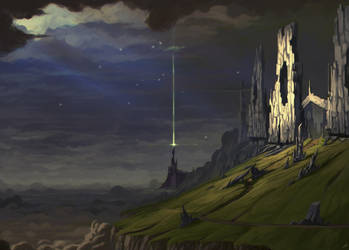 Ancient Ruins by Zeich