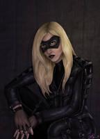 Black Canary - Arrow - Colored by JGiampietro