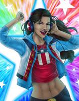 Happy Pride - America Chavez! by JGiampietro