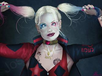 Harley Quinn 25th Anniversary by JGiampietro