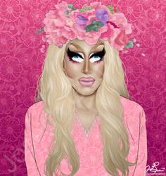 Trixie Mattel. A Woman. by JGiampietro
