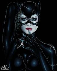 I am Catwoman, hear me roar... by JGiampietro