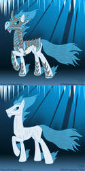 Boreas with and without armor by theflotinghead