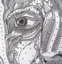 Portrait, detail by jopearce