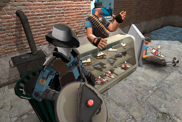 Uncle Heavy's Sandvich Deli by Science121