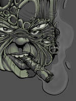 Cigar eyes by YoulDesign