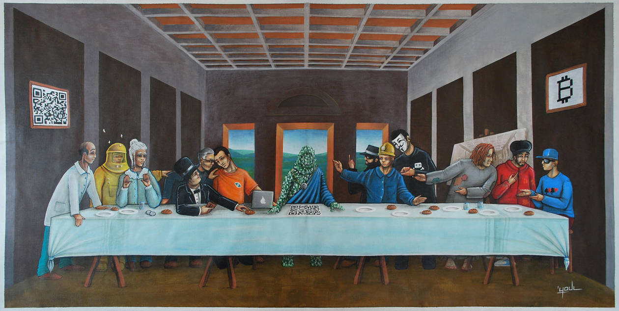 Last Supper - Bitcoin Project by YoulDesign