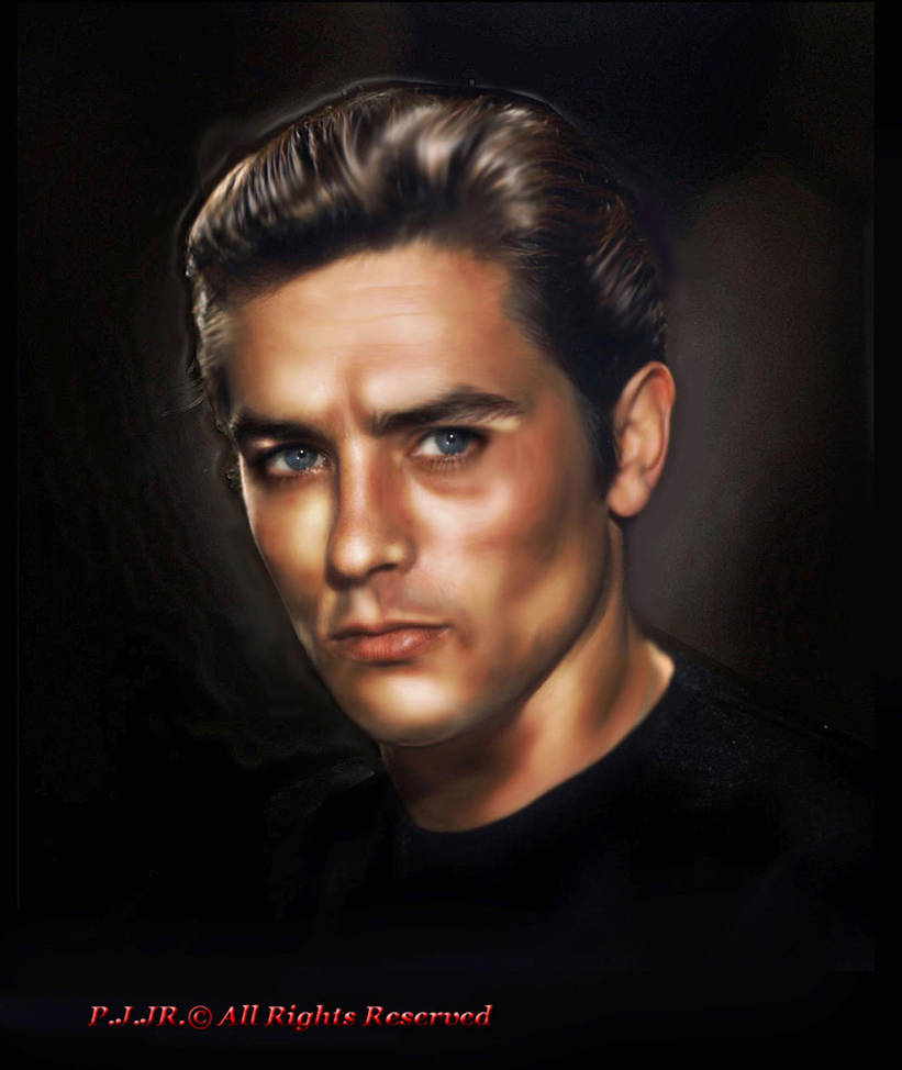 Alain Delon by peterg666666