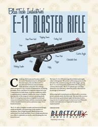 Storm Trooper Blaster Ad by JRMurray76