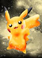 Shiny Pikachu by Joana-the-Raichu