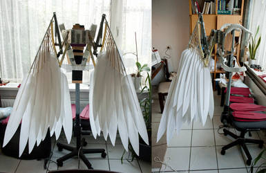 Wings V2 WIP - folded by Mashayahana