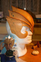 Helmet work in progress 2 by Mashayahana