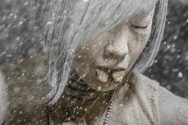 zakura portrait buring man 2017 by IMustBeDead