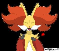 Happy Phox by Mahoxy