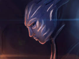 Mass Effect 3 Animatic Screens by Arkis
