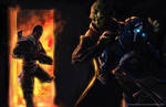 Mass Effect 2: Hired Guns by Arkis