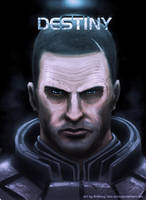 Mass Effect 3: Shepard by Arkis