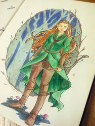 Tauriel by LonelyFullMoon