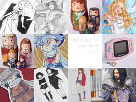 2016 Summary Of Art by LonelyFullMoon