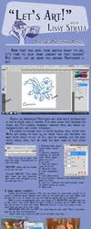 Tutorial: Basic Photoshop by LissyStrata