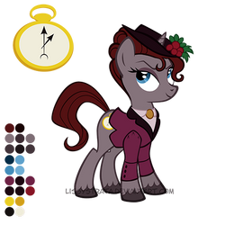 Reference Sheet: The Mistress by LissyStrata