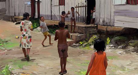 Kampung Life by syarul