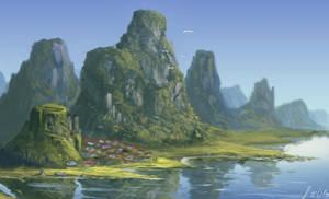 landscape by LaReviera