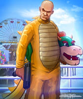 GRAND THEFT MARIO: BOWSER by amirulhafiz