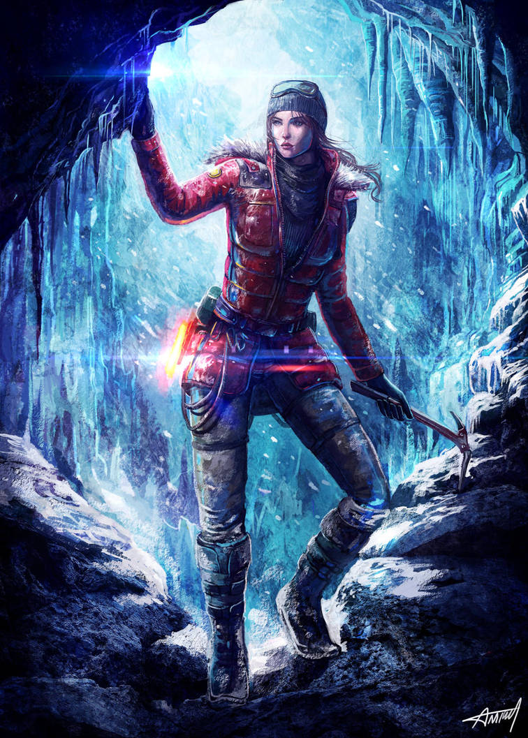 RISE OF THE TOMB RAIDER by amirulhafiz
