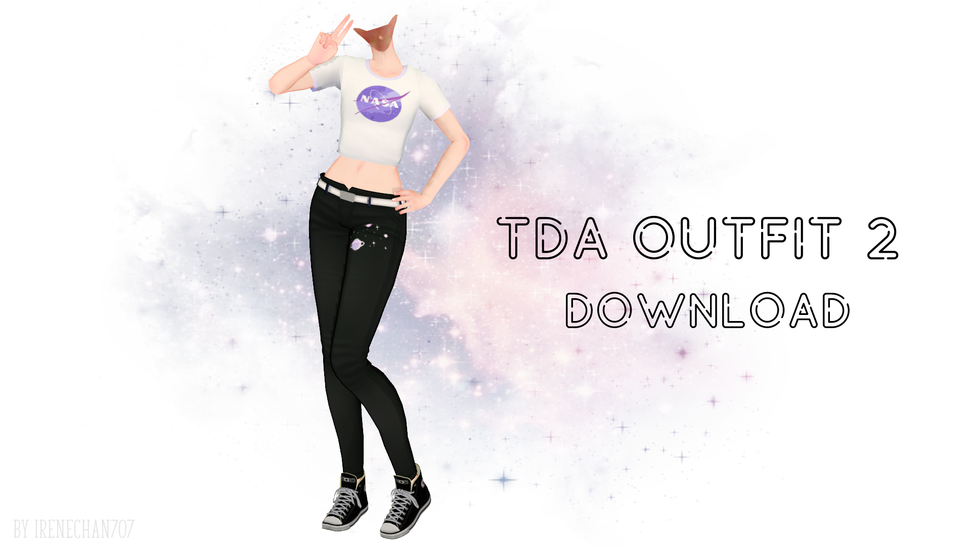[ MMD ] TDA Outfit 2 [ Dl ] By IreneChan707 On DeviantArt