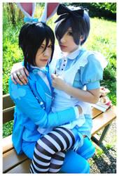 Rabastian +  Aliciel by neni-chan