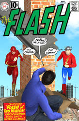 The Flash # 123 by TalesoftheZombie