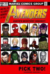 Avengers 221 b by TalesoftheZombie