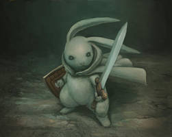 110928 rabbit knight by pc-0