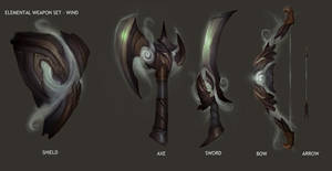 DWJ70 elemental weapons by pc-0
