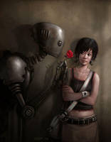 Robot in Love by Rudeone