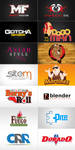 Logos by Dors Design Studio by DorianOrendain