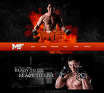 Mexico Fighter Website by DorianOrendain
