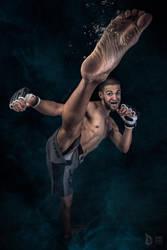 High Kick by DorianOrendain
