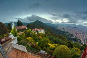 Vista desde el Santuario de Monserrate by DorianOrendain