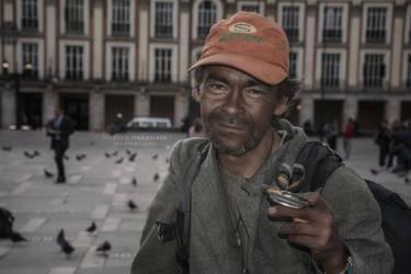 Colombian Street Artist by DorianOrendain