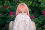 Pink Hair by DorianOrendain