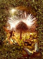 The magic mushroom fairy by claudz-ART
