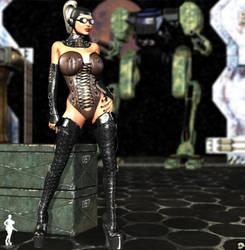 Mech Girl II by XSkullheadX