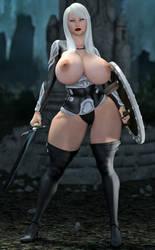 Vixen Warrior  by XSkullheadX