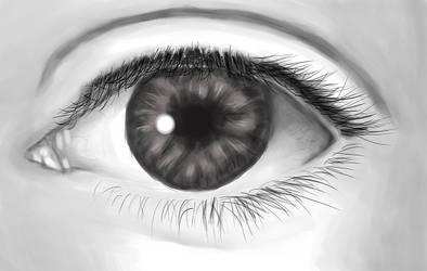 Eye study by Nattaxx