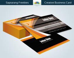 Creative Business Card by Saptarang