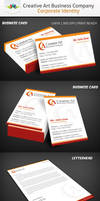 Creative Art Business Company Corporate ID by Saptarang