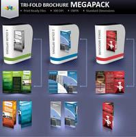 Tri-Fold Brochure Mega-Pack by Saptarang
