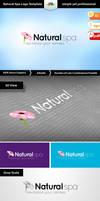 Natural Spa Logo Template by Saptarang